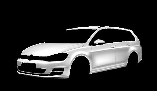 Цвета кузова Golf Variant