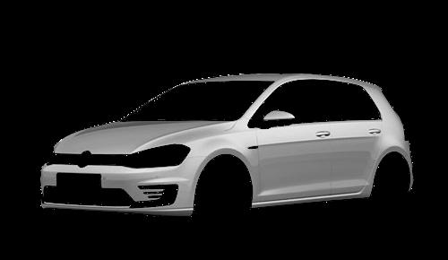 Цвета кузова Golf GTE