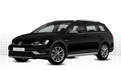 Цвета Golf Alltrack