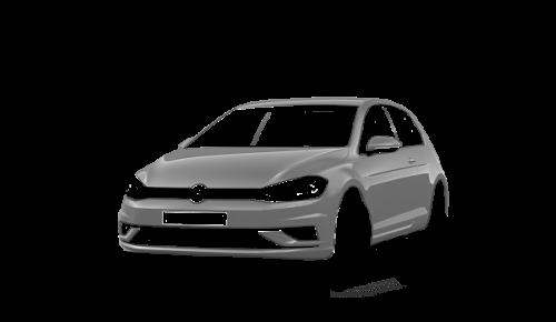 Цвета кузова Golf 3-х дверный