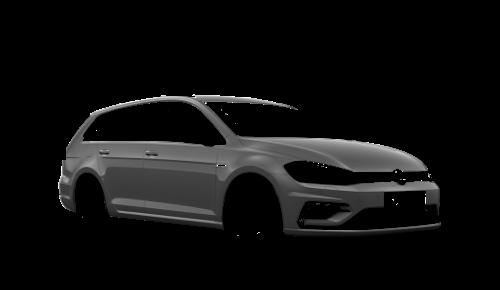 Цвета кузова Golf R Variant
